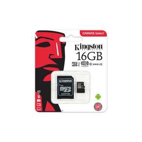 Cartão de Memória Kingston Classe 10 16GB DF - 278468
