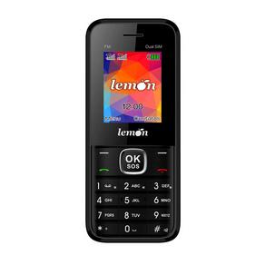 Celular Sensi 8, LM-754, Dual Chip, Tela 1.8'', Rádio FM, MP3 Player Preto ES - 237722
