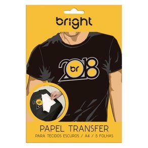 Papel Transfer Bright Tecidos Escuros 5 folhas ES - 2278