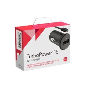 Carregador Veicular Motorola Turbo Micro Usb DF - 255615