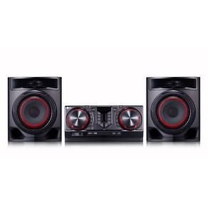 Mini System LG CJ44, Multi Bluetooth, LG Musi Flow Bluetooth, Multi Playlist, Sound Sync Wireless,+ Potência, Karaokê GO - 40427