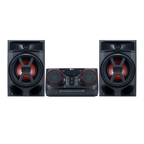 Mini System LG XBOOM CK43, 220W, Multi Bluetooth, Sound Sync Wireless, LG Music Flow Bluetooth, Dual USB, Brasil EQ. GO - 40454