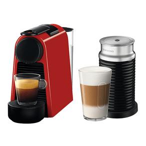 Cafeteira Nespresso Essenza mini Vermelha C30, Reservatório agua 0,6L, Duas Medidas de Café 40ml e 110ml, 1450w, Café Extremamente Cremoso | 127V GO - 196563