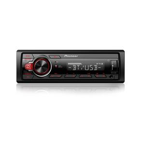 Auto Rádio Pioneer MVH-S218BT, Entrada Auxiliar Frontal, Bluetooth, Viva Voz, Entrada USB, Rádio AM/FM. GO - 44573