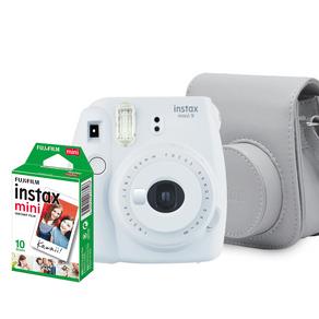 Kit Câmera Instax Mini 9 Branco GO - 227198