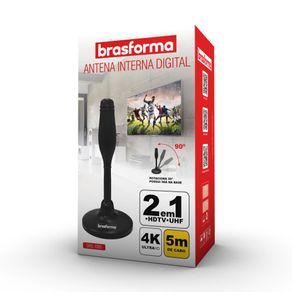 Antena Interna Digital Brasforma SHD-1000 HDTV/UHF GO - 12978