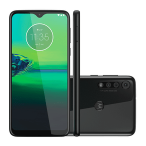 Smartphone Motorola Moto G8 PLAY XT2015-2 Android 9.0, Dual chip, Processador Octa Core 2.0 GHz, Câmera traseira 13mp+8+2 e Frontal de 8MP, Preto... DF - 237766