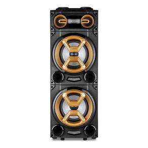 Caixa de Som Amplificada Multilaser SP360 1600W, Bluetooth, 2 Alto-Falantes de 10