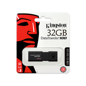 Pendrive Kingston DT100G3 32GB 3.0 ES - 581248