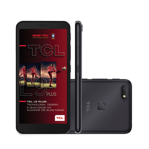 Smartphone TCL L9 Plus, 5101J, Android 9.0, Câmera Traseira 8MP, Frontal 5 MP, 5.5