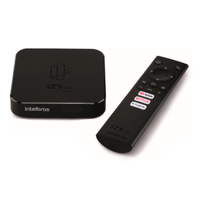 Smart Box Intelbras Android TV IZY Play com Netflix, Youtube e Google Assistente | Bivolt GO - 277904