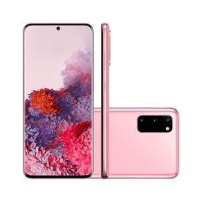Smartphone Samsung S20 G980F/1DL, Android 10.0, Dual Chip, Octa Core 2.73 GHz, Câmera Tripla traseira, Rosa GO - 242841
