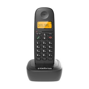 Telefone Sem Fio Intelbras TS 2510 ID Preto GO - 190338
