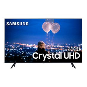 Samsung Smart TV Crystal UHD 50TU8000 4K, Borda Infinita, Alexa built in, Controle Único, Visual Livre de Cabos, Modo Ambiente Foto. DF - 43964