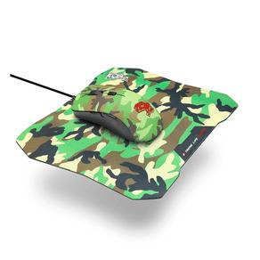 Combo Gamer ELG 2 em 1 Mouse 6 Botões 3.200dpi - Led 7 Cores + Mouse Pad Sense Control 3mm Army - CGMMAY DF - 581656