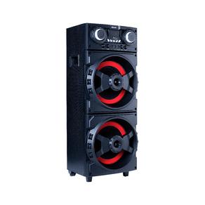 Caixa Amplificada Amvox ACA 1001 Turbo Bluetooth, 1000W de Potência, 2 Subwoofers de 12
