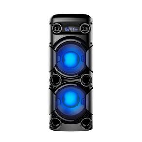 Mini Torre Multilaser 900W - SP380 com Bluetooth, Rádio Fm, Entradas Usb e Cartão de Memória DF - 56975