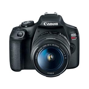 Câmera Digital Canon EOS Rebel T7 com Lente EF-S 18-55mm f/3.5-5.6 IS II DF - 227201