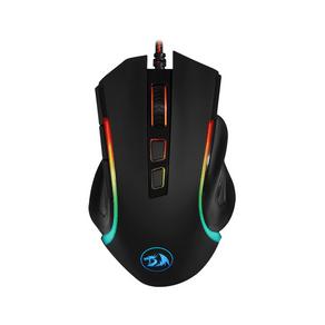 Mouse Gamer Redragon Griffin M607, Retroiluminação LED em 4 Cores, 7.200 DPI Preto DF - 581851