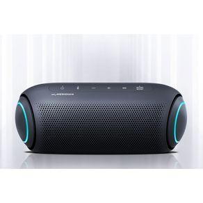 Caixa de Som Portátil LG Xboom Go PL7 Meridian, Bluetooth, Surround, 24 Horas Bateria, IPX5, Comando de Voz, 30W | Azul DF - 56997
