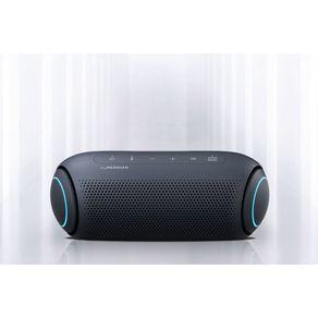 Caixa de Som Portátil LG Xboom Go PL5 Meridian, Bluetooth, Surround, 18 Horas Bateria, IPX5, Comando de Voz, 20W | Azul DF - 56996
