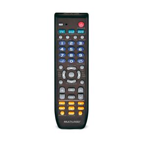 Controle Remoto Universal Multilaser 3 Em 1 - AC088 | Preto DF - 278420