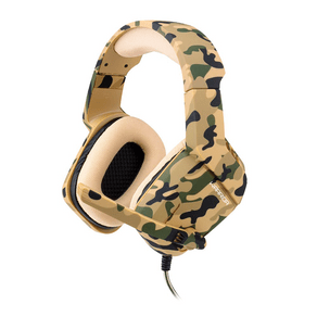 Headset Warrior Gamer Osborn Army P3 - PH336 Bege DF - 581904