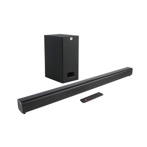 Soundbar JBL SB130 2.0 Canais com Bluetooth, Subwoofer com Fio, Potência Total 55W RMS, JBLSB130BLKBR Bivolt | Preto DF - 40495