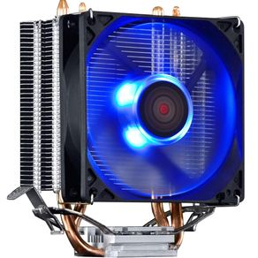 Cooler Pcyes para Processador KZ2 Intel e AMD - TDP 95W Led Azul GO - 59677