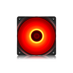 Fan Cooler Deepcool RF120 FS 120mm Led Vermelho DF - 59691