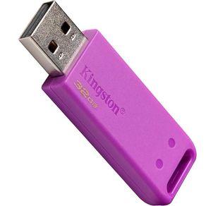 Pen Drive Kingston 32GB DataTraveler USB 2.0 KC-U2E32   Púrpura DF - 278436