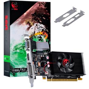 Placa de Vídeo Pcyes NVIDIA GEFORCE GT 730 2GB DDR3 64 BIT - PA7302DR364LP DF - 59744