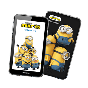 Tablet Positivo Twist Tab Minions T770KM 32GB, Wi-Fi, Tela 7