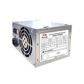Fonte C3Tech ATX 200W PS-200V4 C3PLUS Sem Cabo | Bivolt GO - 59961