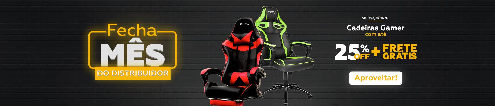 Cadeiras Gamer