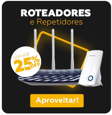 ROTEADOR E REPETIDOR