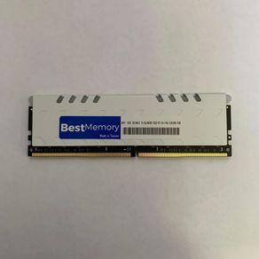 Memória Best Memory DDR4 8GB RGB 3000Mhz para PC, Com Dissipador, BT-04-8-30000w-RGB Highlander Series GO - 801011