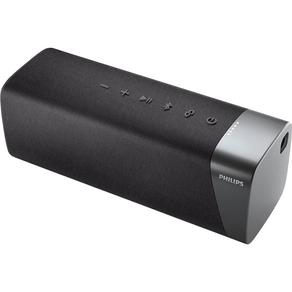 Caixa de som Philips com conexão bluetooth, resistência a água IPX7 e energia para 12h TAS5505/00 | Cinza DF - 286087