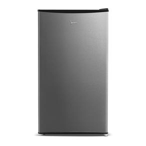 Frigobar Midea MRC10B2-X, 93 Litros, Função Refrigerador, Compartimento Extra Frio, Gaveta Transparente Para Frutas e Verduras, Preto / Inox | 220V DF - 196772